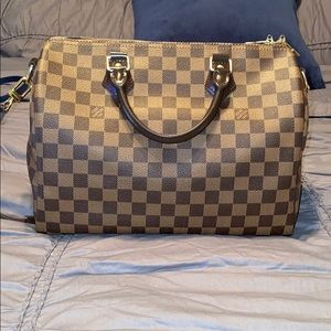 100% Authentic Louis Speedy B 30